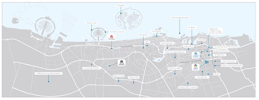 أوركيد-في-الزاهية خريطة الموقع