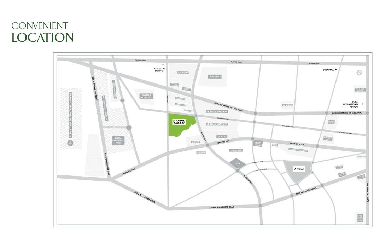 لوريتو-في-داماك-هيلز خريطة الموقع