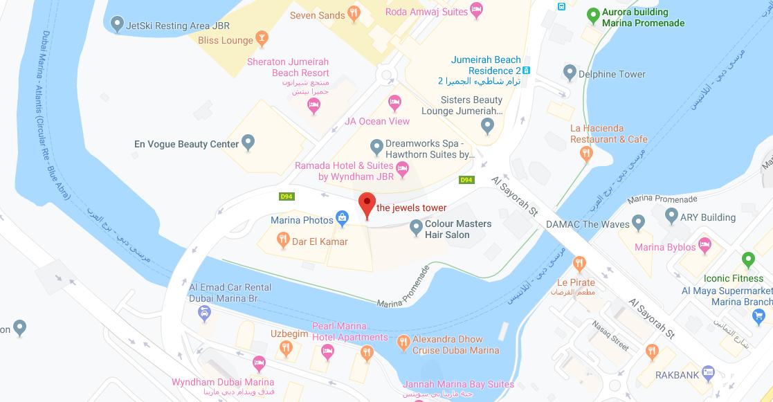كيان-جويلز خريطة الموقع
