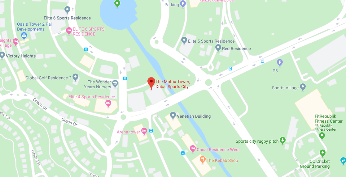 ذا-ماتريكس خريطة الموقع
