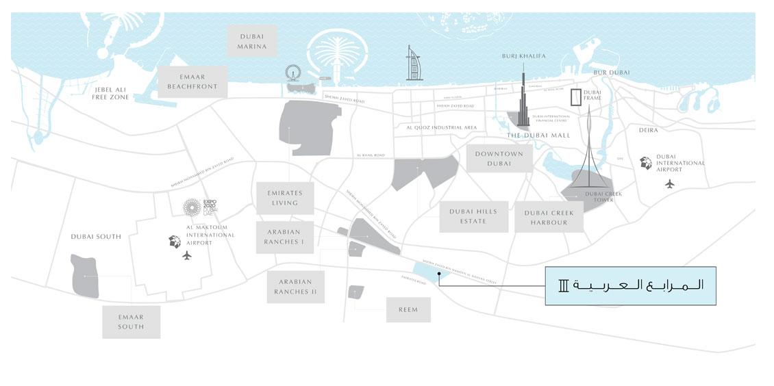 ربى-تاون-هاوس-2 خريطة الموقع