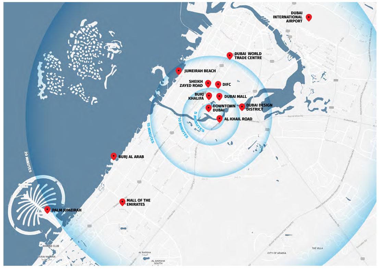 داماك-برايف خريطة الموقع