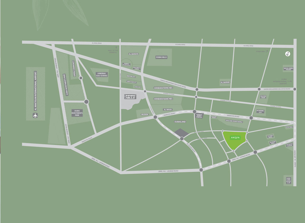 فلل-بييلا خريطة الموقع