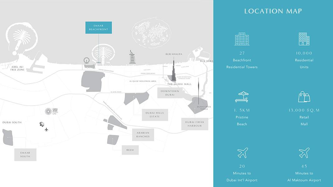 فلل-مارينا-فيستا خريطة الموقع