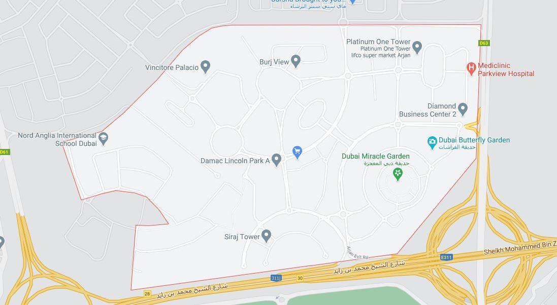 جويا-بلانكا-ريزيدنس خريطة الموقع