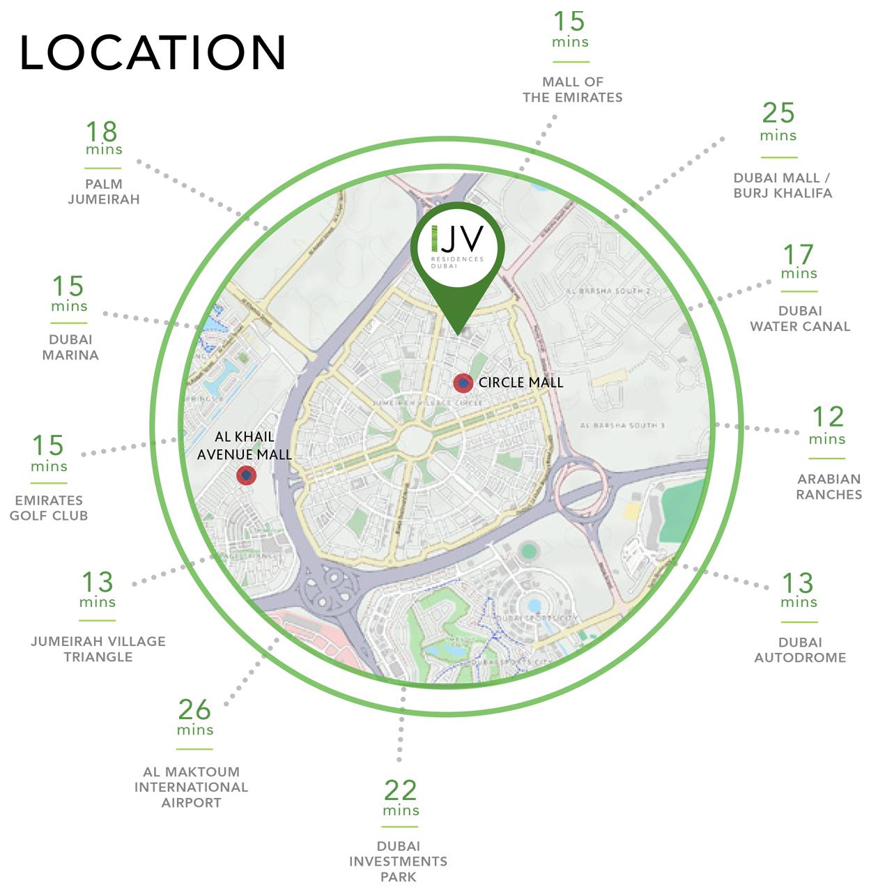 جويا-فيردي-ريزيدنس خريطة الموقع