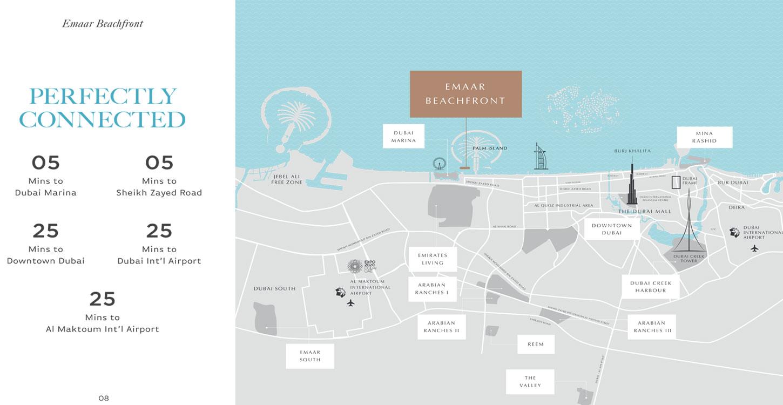 بيتش-آيل-تاور-2 خريطة الموقع