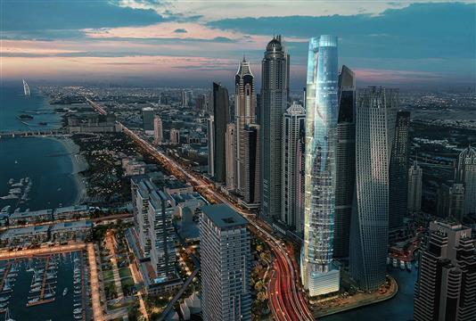 برج سيل دبي مارينا