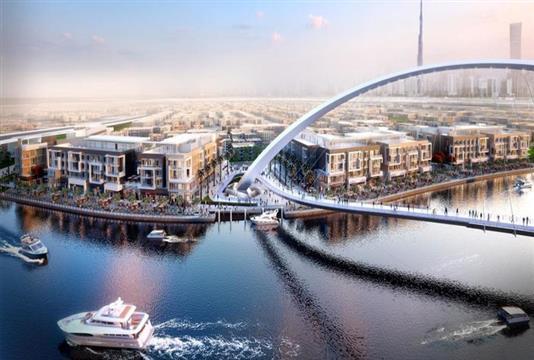 أراضي قناة دبي المائية